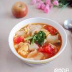 番茄鸡蛋汤饭