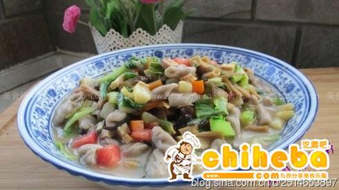 荞面圪坨(陕北小吃)