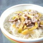 榨菜肉丝汤粉