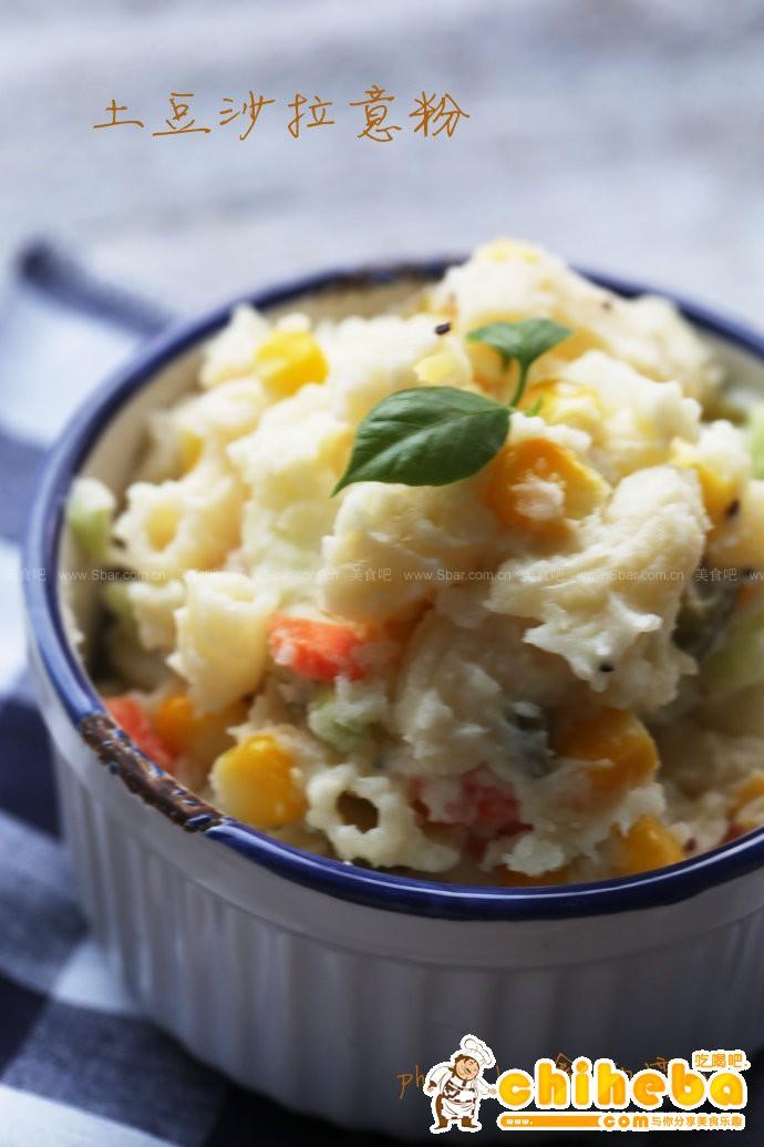 土豆泥沙拉意粉