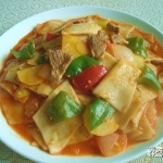 炒面片—新疆味道