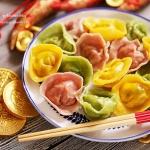 三彩元宝水饺