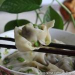 猪油渣香茹饺子