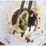 皮皮虾韭菜馅水饺(附韭菜馅不出水的小窍门)