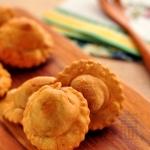 菠菜奶酪酥饺