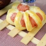 红曲粉花式面包