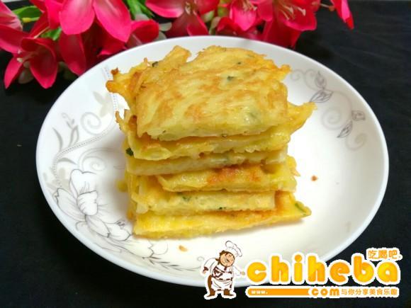 葱香土豆饼