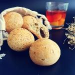 抹茶味麻薯包