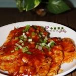 茄汁西葫芦肉饼